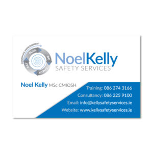 Noel Kelly Safety Services Business Card